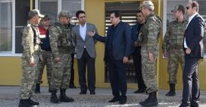Vali Küçük, Süleyman Şah Türbesini ziyaret etti