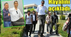 Dünyanın en uzun adamı Urfa'da