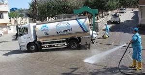 Eyyübiye'de temizlik takdir topluyor
