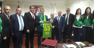 MSK Urfa, Bakan Çelik'ten destek istedi