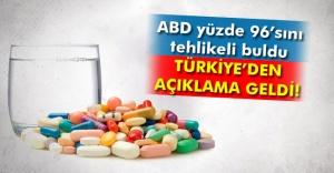 O ilaçlar için bir açıklama da Türkiye'den