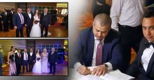 Bucak ve Bakan nikah şahidi oldu