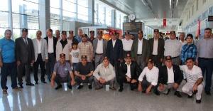 Şehit yakınları Çanakkale'ye uğurlandı