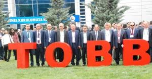 ŞUTB heyeti TOBB genel kuruluna katıldı