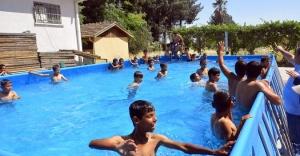 Ceylanpınar'da havuz şenliği