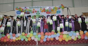 Dereceye giren Suriyeliler ödüllendirildi
