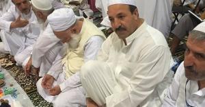 Özcan'dan Mekke'ye taziye ziyareti...