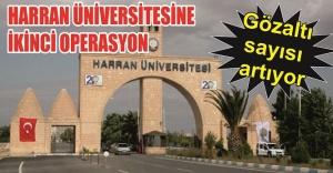 İşte Harran Üniversitesinde gözaltına...