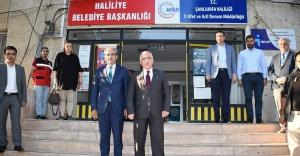 Vali Tuna belediye başkanlarını ziyaret etti