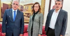 Karahan Uslu, Vali Tuna'yı ziyaret etti