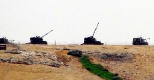 Urfa sınırında namlular Cerablus'a çevrildi
