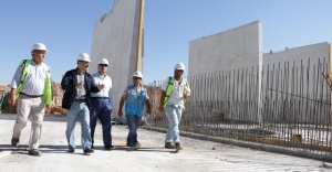 Arıtma tesisi için altyapı planlaması yapıldı
