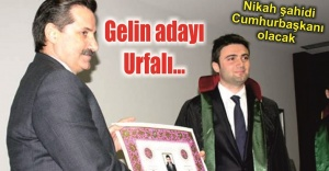Bakan Çelikin oğlu evleniyor