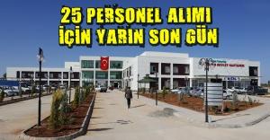 Hastaneye 22 personel alınacak