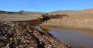 37 kırsal mahalleye sulama göleti yapıldı