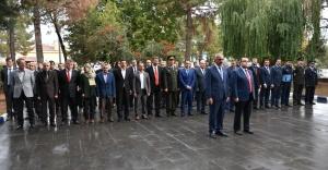 Hilvan'da, Cumhuriyet'in Kurucusu Ulu Önder Atatürk Anıldı