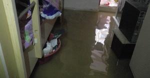 Urfa'da evler sular altında kaldı