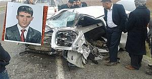 Genç imam trafik kazasında öldü
