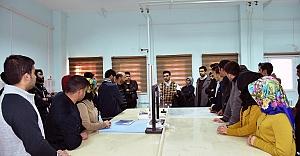Hilvan Belediyesi Bilgi Evi Öğrencileri Kariyer Gezisinde