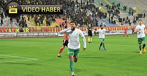İşte Urfaspor'u galibiyete taşıyan goller...