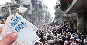 Tüm birikimini Halep'e bağışladı