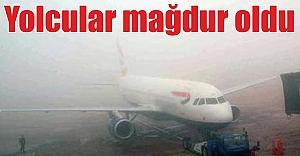 Urfa'da uçak seferleri iptal edildi