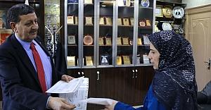 Başkan Özyavuz'dan girişimci kadınlara destek...