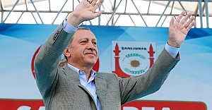 Cumhurbaşkanı Erdoğan Urfa#039;ya...
