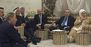 Erdoğan#039;dan sürpriz ev ziyareti...