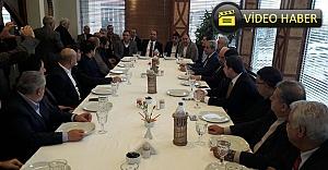 Urfalı iş adamları bu toplantıda buluştu