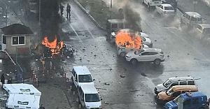 İzmir'de patlama ve adliye önünde çatışma