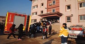 Okulda yangın çıktı…
