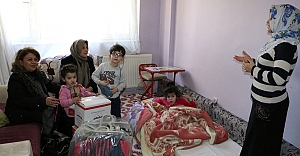 Sema Çiftçi'den Elif Nur'a ziyaret