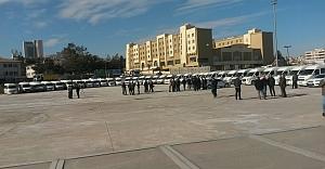 Servis şoförlerinden 'korsan'a hayır' eylemi