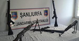 Uzun namlulu silah ele geçirildi…