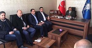 AK Parti Başkan Yardımcıları Viranşehir'de