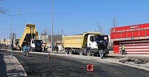 Büyükşehir'den Eyyübiye'de yenileme çalışması