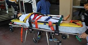 Tekvandocu hastanelik oldu