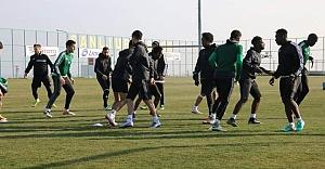 Urfaspor çift kale maç yaptı