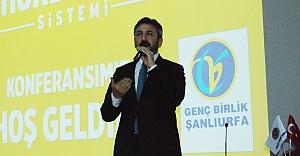 Aydın Şanlıurfa'da Cumhurbaşkanlığı sistemini anlattı