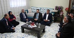 Başkan Demirkol, şehit ailelerini ziyaret etti