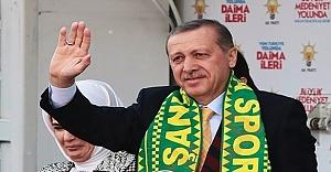 Erdoğan'a fahri hemşehrilik beratı