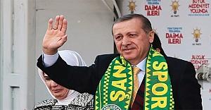 Erdoğan, Urfa'ya geliyor