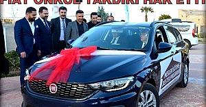 Fiat Önkol Harran Üniversitesi'ne araç hibe etti