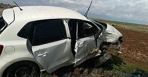 Hakime trafik kazası geçirdi