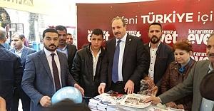 Halil Özcan tura çıktı