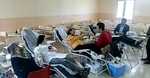 Teknik bilimler meslek yüksekokulundan kan bağışı