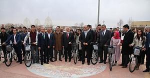 Urfa, bisiklet yolları ile tanışıyor
