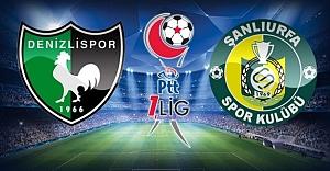 Denizlispor-Urfaspor maçına seçim ayarı...