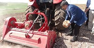 Eyüpoğlu tarım arazilerine el attı